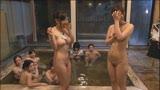 2015年 SOD女子社員 ユーザー接待バスツアー 混浴温泉いきなり野球拳24