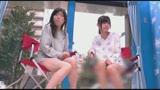 マジックミラー号 150cm以下の低身長20代女性が極太バイブ体験!!in豊島区/