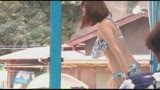 マジックミラー号 女子大生限定! 海水浴場で見つけた初対面男女がミラー号混浴温泉初体験!!/
