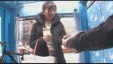 マジックミラー号×アクメ自転車 ママチャリ人妻限定!「みんな私の方を見てる気がするんですけど・・・」公衆の面前!?でイキまくる!ハリガタピストンで大量潮吹き絶頂アクメ!!10