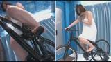 マジックミラー号×アクメ自転車 ママチャリ人妻限定!「みんな私の方を見てる気がするんですけど・・・」公衆の面前!?でイキまくる!ハリガタピストンで大量潮吹き絶頂アクメ!!26