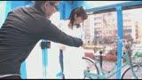 マジックミラー号×アクメ自転車 ママチャリ人妻限定!「みんな私の方を見てる気がするんですけど・・・」公衆の面前!?でイキまくる!ハリガタピストンで大量潮吹き絶頂アクメ!!3