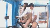 マジックミラー号×アクメ自転車 ママチャリ人妻限定!「みんな私の方を見てる気がするんですけど・・・」公衆の面前!?でイキまくる!ハリガタピストンで大量潮吹き絶頂アクメ!!8