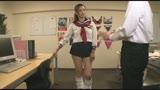 社員の前で恥ずかしすぎる公開催眠美熟女セーラー服某高級下着メーカー社長 青山翠(34)29