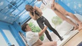 """マジックミラー号ハードボイルド 街で働く女性に""""濡れると光るストッキング""""を履いてもらって美脚を堪能!興奮してきたらお金で口説いてデカチン激ピストン!10"""