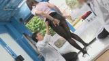 """マジックミラー号ハードボイルド 街で働く女性に""""濡れると光るストッキング""""を履いてもらって美脚を堪能!興奮してきたらお金で口説いてデカチン激ピストン!3"""
