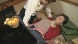 コタツの中でイカされ中出しされた嫁の母 35