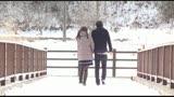 母と息子、雪と温泉19